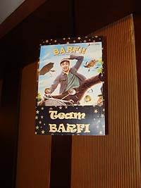 Retro Birthday theme Barfi poster